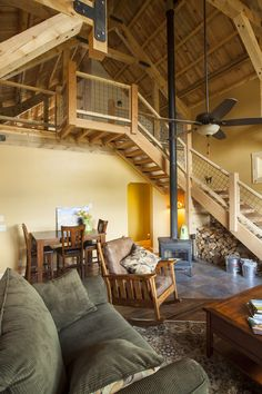 With Post And Beam Construction Your Barn Will Not Only Look Great From The Exterior But You Also Have An Interior