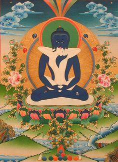 art work, samantadhabra yab-yum Buddhist art