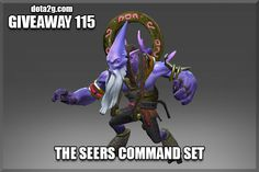 Giveaway 115 - The Seers Command Set