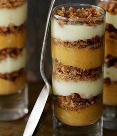 10 Thanksgiving Desserts || Pumpkin Praline Trifle, i am in love