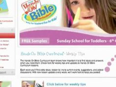This looks like an awesome Children's Church Curriculum!