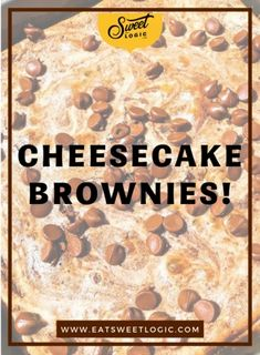 Keto & Gluten Free Cheesecake Brownies Keto Brownies, Cheesecake Brownies, Brownie Cake, Brownie Cookies, Low Carb Desserts, Cookie Desserts, Gluten Free Cheesecake, Brownie Recipes, Muffin Recipes