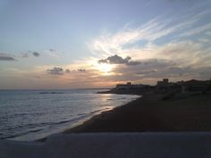 """A view from our """"Terrazza sul mare"""" of a sunset; September 2011."""