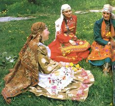 Village costumes of Tatarstan