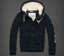 Blue Abercrombie And Fitch Hoodie