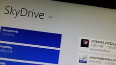 Microsoft highlights SkyDrive improvements in Windows 8.1
