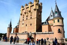 Alcázar de Segovia, España.