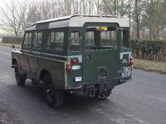 Land Rover Series IIA Safari - 89k miles - superb history. For Sale (1968)