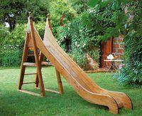 Gorgeous Wooden slide