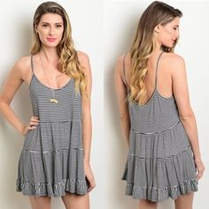 Minimalist Chic Striped Dress/Top Adorable dress! So comfy! Boxy fit and so stylish!   💠100% Cotton  💠S: 3-5, M: 7-9, L: 11-13  ✔️If you'd like to MAKE AN OFFER please do so through the offer button ONLY. I won't negotiate prices in the comments.  ✔️All items $15 and under are firm unless BUNDLED.  ❌No trades, PayPal, Holds 📷Instagram: @lovelionessie Dresses