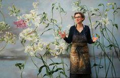 Las magníficas y colosales obras murales de Claire Basler