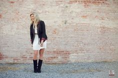 rustic portrait photography - southern country singer / songwriter, brittany marie - raleigh nc band photography