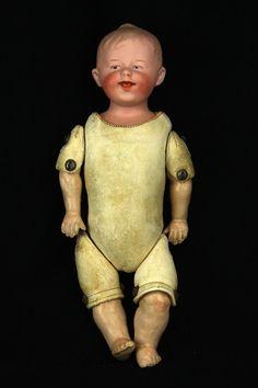 Antique German Heubach Character Baby Doll Ca1910 | eBay