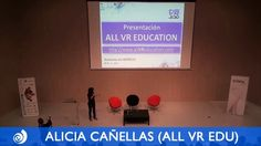Intervención de Alicia Cañellas presentando All VR Education en el Aumentame 2015