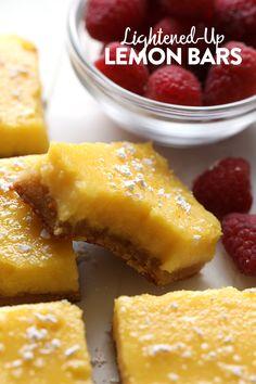 Video: Healthy Gluten Free Lemon Bars - Fit Foodie Finds