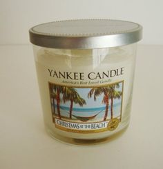 Candle Gift: Christmas at the Beach Yankee Candle. $15.99