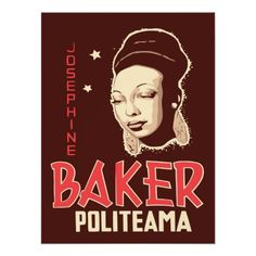 Vector Art Josephine Baker at the Politeama Posters