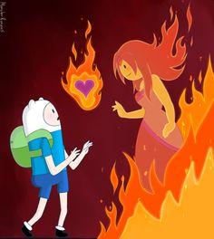 Adventure time is finn hookup flame princess