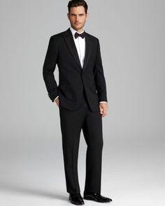 Armani Collezioni Giorgio Peak Lapel Tuxedo Suit - Contemporary Fit