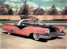 1955 Ford Mystere. www.romanworldwide.com #orangecountylimo #lacountylimo #247limo