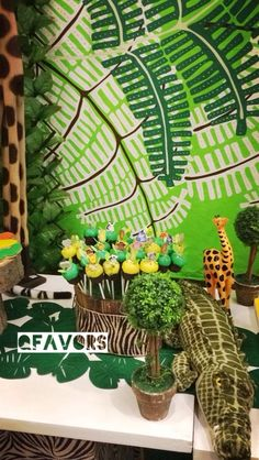 Cute cake pops at a Jungle party!!  See more party ideas at CatchMyParty.com!  #partyideas #jungleparty