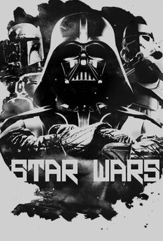 """Star Wars poster; I think Star Wars still are my favorite movies. Although I despise the """"new ones"""""""
