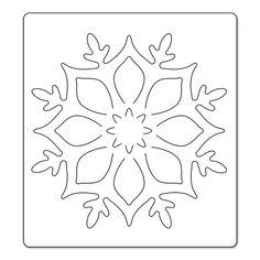 me ~ Sizzix Bigz Die - Snowflake Ornament Christmas Makes, Felt Christmas, Christmas Colors, Christmas Time, Christmas Decorations, Christmas Ornaments, Felt Crafts, Diy And Crafts, Arts And Crafts