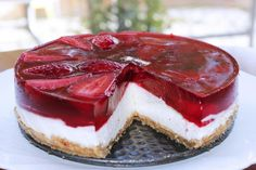 Hello Recipe, Pumpkin Cheesecake Bars, Breakfast Recipes, Dessert Recipes, Gelatin Recipes, Cute Cakes, Cheesecakes, Cake Designs, Cake Decorating