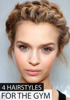 Who wouldn't want to look pretty while you sweat! Try these fabulous hairstyles for the gym.
