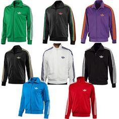 Hombre-Clasicos-Firebird-cremallera-Adidas-Originals-Sport-Track- a7fda6c7d2dd3
