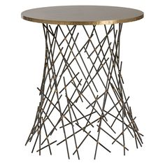 Arteriors 4354 Grazia Side Table - contemporary - Side Tables And End Tables - Lighting Front houzz Marble End Tables, Glass End Tables, Round Tables, Contemporary Side Tables, Contemporary Decor, Best Design Books, All Modern, Home Furnishings, Home Decor