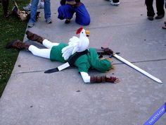 Link Legend of Zelda #cosplay #nintendo