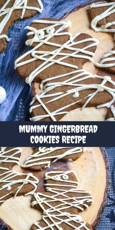 Who says you can only have gingerbread cookies at Christmas time? These spooky mummy gingerbread cookies give the holiday favorite, a fun Halloween twist! These gingerbread cookies are great for any Halloween get together to enjoy the holiday and celebrate!  #halloween #ad #HalloweenTreatsWeek Best Dessert Recipes, Amazing Recipes, Easy Desserts, Cookie Recipes, Delicious Desserts, Yummy Food, Spooky Treats, Halloween Treats, Best Comfort Food
