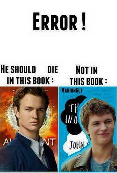 Yep,yep,yep, but I bet he actually cared about Tris in allegent, he was just a teachers pet.