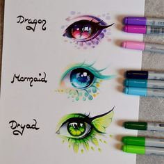 "14.4k Likes, 155 Comments - Lighane (@lighanesartblog) on Instagram: ""How I wished mythical creatures would really exist! <3 Here are some eyes of my favorite ones!…"""