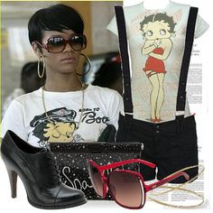 RIHANNA BETTY BOOP | Women's Outfit | ASOS Fashion Finder