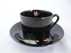Vintage Fitz and Floyd Midnight Poppy This is my china pattern