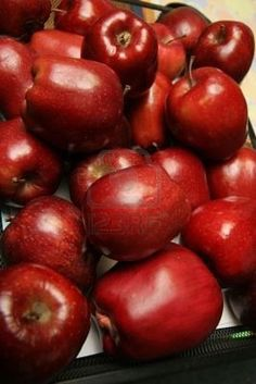 Ruby Red Apples...