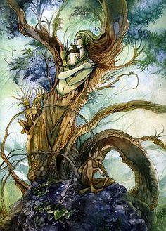 Stephanie Pui Mun Law  The Tree Spirit: The Dryad