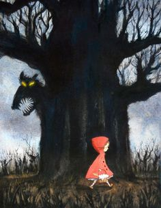 Little Red Riding Hood and the Wolf by Lee White