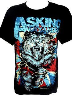 ASKING ALEXANDRIA Tiger Rock Band Music Heavy par BestRockShirts, $14.90