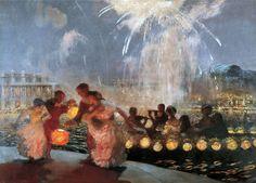Gaston La Touche ~ Post-impressionist painter   Tutt'Art@   Pittura • Scultura • Poesia • Musica