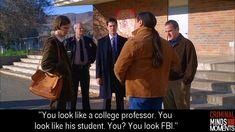 Only Hotch looks like the FBI