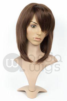 Princess Mononoke wig  Inigo Spanish Brown (FRONT)