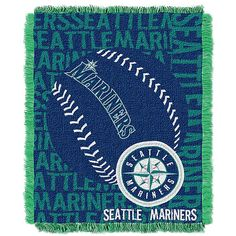 """Seattle #Mariners 48""""x60"""" Double Play Throw $34.99"""