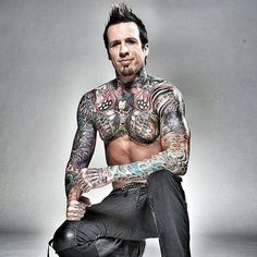 Five Finger Death Punch drummer Jeremy Spencer.