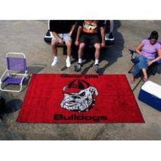 "Georgia Bulldogs Mascot Logo Tailgating Ulti-Mat 60""x96"""