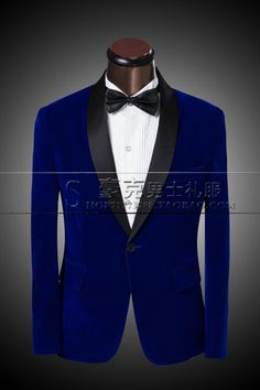 2015 New Arrival Men Red Suit Tuxedo Spring Autumn Fashion Brand Men Slim Blue Wedding Suits for Men Groom Jacket +Pants+Bow Tie-in Suits from Men's Clothing & Accessories on Aliexpress.com | Alibaba Group