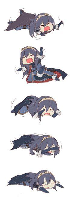 Fire Emblem Awakening - Lucina throwing a tantrum