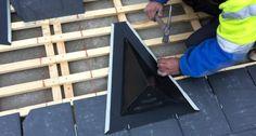 Beatas de ventilación para cubiertas con pizarra. En este nuevo post os vamos a contar la importancia y las ventajas que tiene tener un buen sistema de ventilación en tu tejado. Al ejecutar una nueva obra o a la hora de rehabilitar un tejado de pizarra es esencial tener un buen plan de ventilación, Plans, Wood, Crafts, To Tell, Slate Roof, Lets Go, Slate, Manualidades, Woodwind Instrument